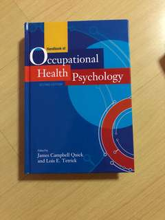 occupational health psychology hp3808