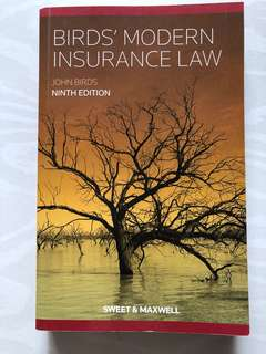 Bird's modern insurance law 9th edition