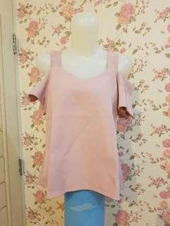 Pink Blouse Sabrina