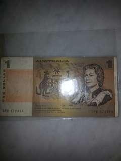 Old Australian note