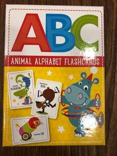Brand New ABC Animal Alphabet Flashcards