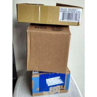 5 Pieces Shipping Carton Boxes
