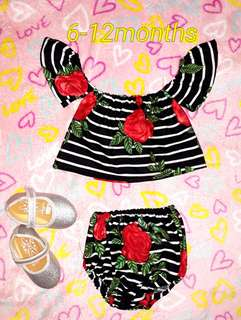 🌻 Baby Romper with Turban Open for Take All 🌻