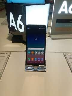 Samsung galaxy A6 promo free 1x cicilan