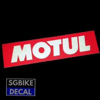 Motul Reflective Decal