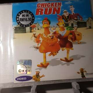 VCD - CHICKEN RUN (2000) animation adventure comedy