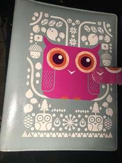 binder owl (26 ring, B5)