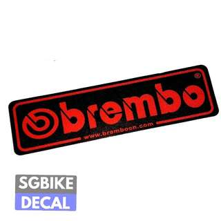Reflective Brembo Decal