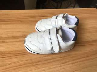 White Shoes for Baby