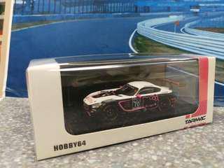 Tarmac Works 1/64 Mercedes-AMG GT3 Blancpain GT Series Sprint Cup 2017 Heyer / Mori