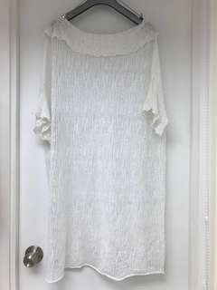 Brand new elegant dress/one piece 全新麻棉質長裙