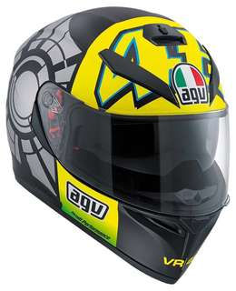 AGV K3 SV rossi winter test 2012