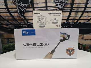 Feiyu Vimble 2 kit Foc Ulanzi PT-3 Bracket