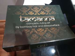Bombay Hair- Tamanna Roashan complete hair styling set