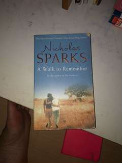 a walk to remember nicholas sparks