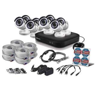 Brand new Swann 8 Channel Security System: 5MP Super HD with 2TB HDD & 8 X 5MP Bullet  Cameras