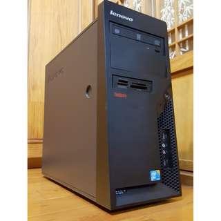 Lenovo大品牌桌上型電腦主機Intel E7500 頂級正雙核心 掛網機 文書機(硬碟只使用75天)
