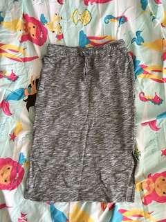Oxygen side slit skirt