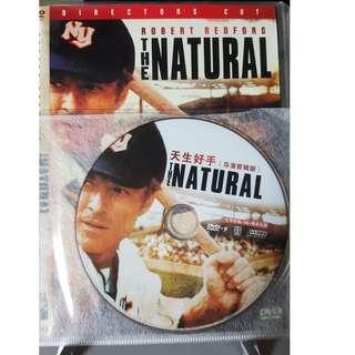 DVD - THE NATURAL(1984) robert redford robert duvall baseball sports drama roy hobbs