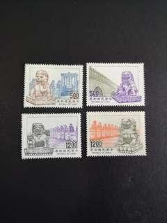 A71 专307中国石狮邮票4全