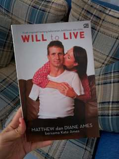 "Buku Bacaan ""Will To Live"""