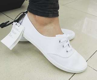 New H&M White Sneakers