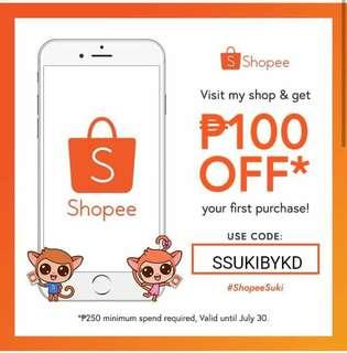 Shopee Suki Code