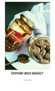 Chocoby topping Milo Nugget