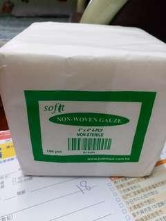 4吋紗布8包 膠布