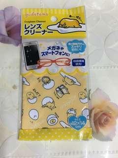 蛋黃哥眼鏡布 日本sanrio