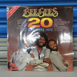 "Bee Gees 20 Greatest Hits 12"" LP"