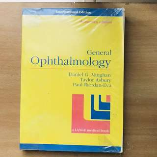 Vaughn's Ophthalmology