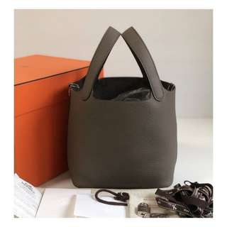Authentic Hermes Picotin 18