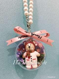 Winter Bear Crystal Ball
