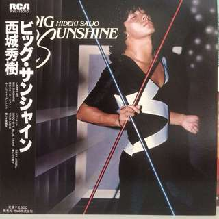 西城秀樹 Hideki Saijo - Big Sunshine