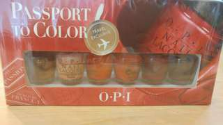 OPI Nail Polish mini - Travel Exclusive size 6 red colours BNIB