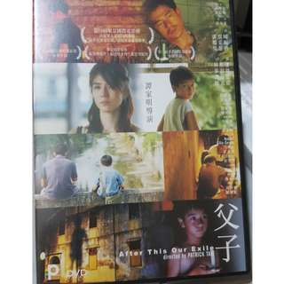 DVD - 父子 AFTER THIS OUR EXILE (2006) hong kong drama filmed in malaysia aaron kwok charlie yeung