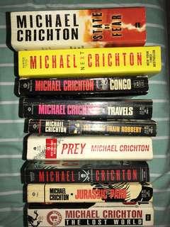 Michael Crichton collection