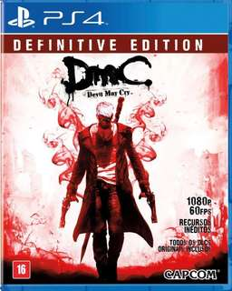 Ps4 Game dmc devil may cry