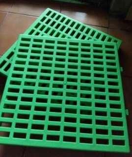 *NEW* FootRest hewan peliharaan warna hijau ( 30cm x 30cm x 3cm )