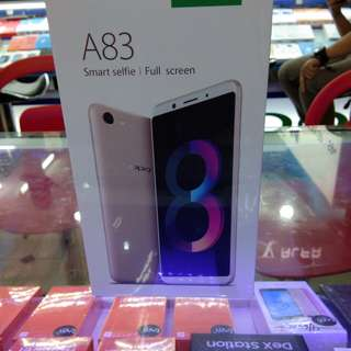 New oppo A83 fullview display