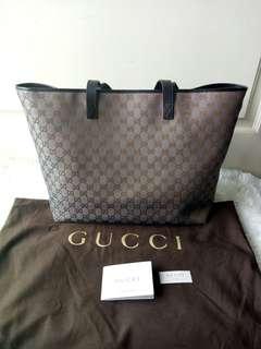 Tas GUCCI Large Tote Bag Classic Original New