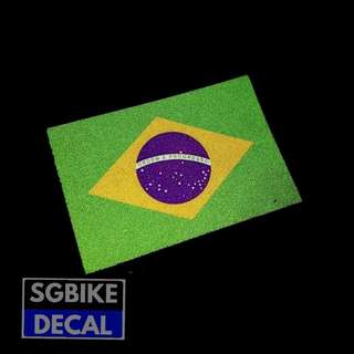 Brazil Reflective Decal