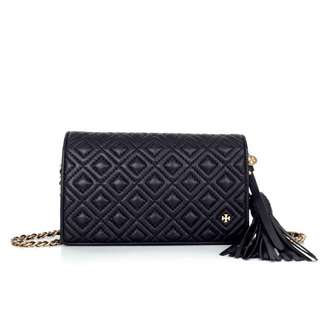 Tory Burch Flemming Quilted Wallet Crossbody
