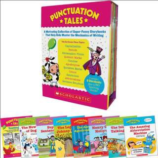 SCHOLASTIC 'PUNCTUATION TALES'