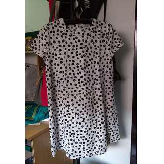 Dress / Gaun Casual Wear Mango original size M (Fit to L)
