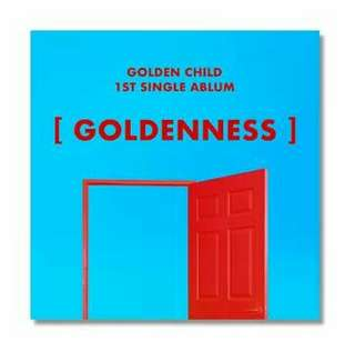 Golden Child - 1st single album (Goldenness)