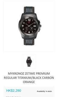 Mykronoz Zetime Premium Regular Titanium