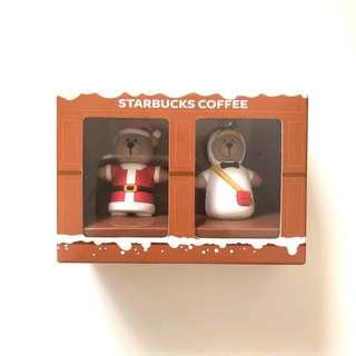 Starbucks 2017 Christmas Bear Keychain