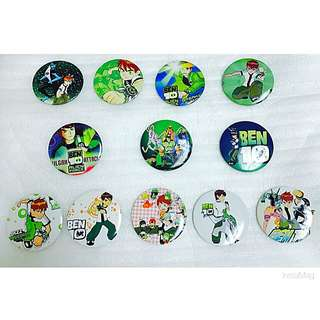 Ben10 Party Gift Brooch Set